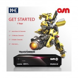 Humax 1000S Digital Satellite Receiver + OSN Get Started 1 Year Subscription