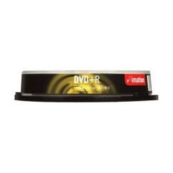 Imation DVD+R 16X Normal 10 Pk Spindle - 73000007002