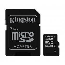 Kingston Class 4 microSDHC Memory Card 32GB