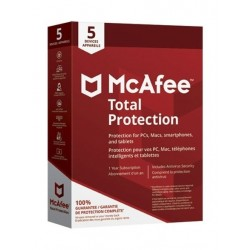 McAfee Total Protection 2018 5 Users 5 Devices