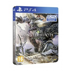 Monster Hunter World Steel Book Edition: PlayStation 4 Game