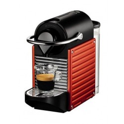 Nespresso Pixie Coffee Machine (C60-ME-RE-NE) - Red