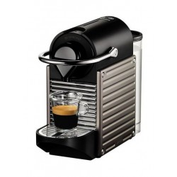 Nespresso Pixie Coffee Machine (C60-ME-TI-NE) - Titan