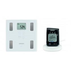 Omron Blood Pressure Monitor + Omron Scale