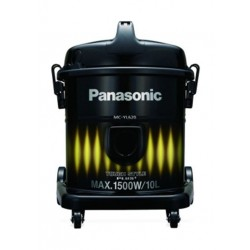 Panasonic 10 Liters 1500W Drum Vacuum Cleaner (MC-YL620Y747) - Black