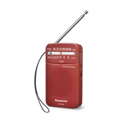 Panasonic Portable FM/AM Radio - Red