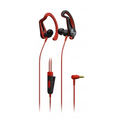 Pioneer SE-E5T Active Fit Sports Headphone - Red 1