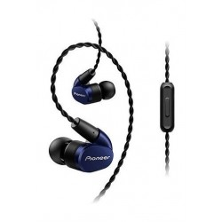 Pioneer Tangle Resistant Premium In-Ear Wired Earphones (SE-CH5T) - Blue