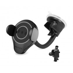 Promate AlphaMount Ultra-Fast Wireless Car Charging Mount
