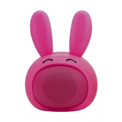 Promate Bunny Mini High Definition Wireless Speaker - Pink 1