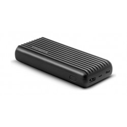 Promate Titan-20C 20000mAh High-Capacity Power Bank - Black