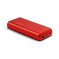 Promate Titan-20C 20000mAh High-Capacity Power Bank - Red