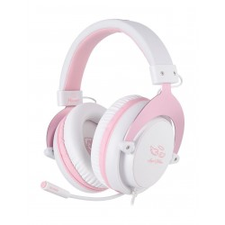 Sades Mpower Gaming Headset - Pink 2
