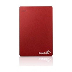 Seagate Back Up Plus 1TB Portable Hard Drive (STDR1000203) – Red