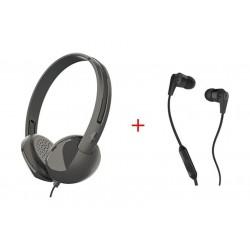 Skullcandy Stim On-ear Headphone + In-ear Headset
