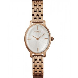 Timex Milano Oval 24mm Ladies Stainless Steel Watch - TW2R94000