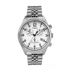 Timex Waterbury Traditional Chronograph 42mm Gents Stainless Steel Watch - TW2R88500