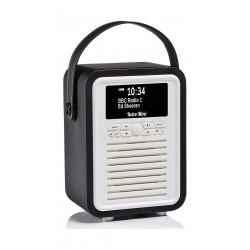 VQ Retro Mini HD & FM Radio with Bluetooth Speaker - Black 3