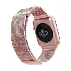 X-Doria Milanese Band Wrist Strap for Apple Watch 42 mm - Rose Gold