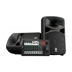 Yamaha Portable PA System With Bluetooth (StagePas 600BT) - Black  2