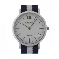 Borelli Quartz Analog Ladies Fabric Watch - BWF12200100