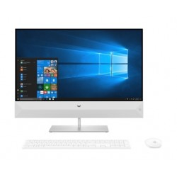 HP Pavilion Core i7 8GB RAM 1TB HDD 27 inch All-in-One Home Desktop (27-XA0005NE) - White