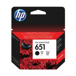 HP Ink 651 Black Ink