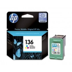 HP Ink 136 for Inkjet Printing 220 Page Yield - Tri-colour
