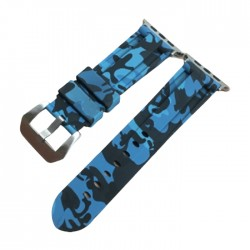 EQ Apple Watch Band Size 42/44MM (Camouflage) - Blue