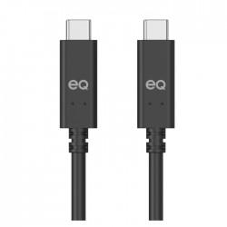 Gen 1 Type-C to C 2M USB Cable Black upwards xcite buy in Kuwait