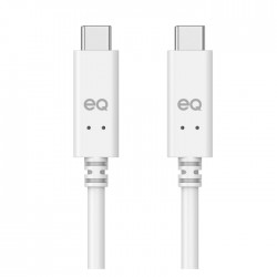Gen 1 Type-C to C 2M USB Cable White Front xcite buy in Kuwait