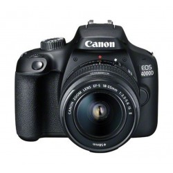 Canon EOS 4000D 18MP Wi-fi With 18-55 Lens IS II
