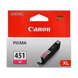 CANON Ink 451XLM for Inkjet Printing 680 Page Yield - Magenta (Single Colour Pack)
