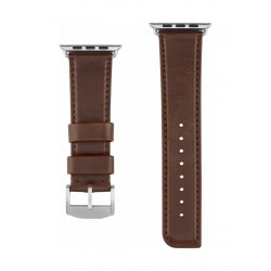 Casemate 42mm Apple Watch Signature Leather Band - Brown
