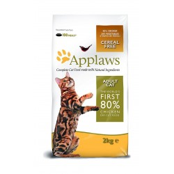 Applaws Dry Food For Adult Cat Chicken Formula 2 Kg