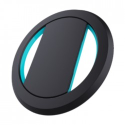 OhSnap Phone Grip - Black / Cyan
