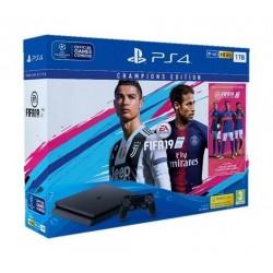 Sony PS4 Slim 1 TB + FIFA 19 Champion Edition + FIFA 19 Ultimate Team DLC + PSN 14 Days