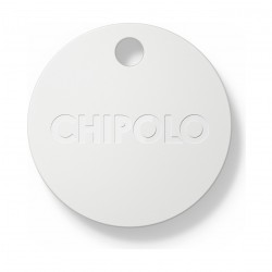 Chipolo PM6 Smart Keyring Bluetooth Tracker - Pearl White