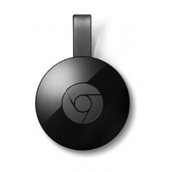 Google Chromecast 2.0 WiFi/HDMI Streaming Media Player - Black