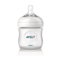 Philips Avent Classic Plus 125ml Baby Bottle - Clear