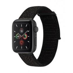 Casemate Apple Watch 42/44mm Nylon Band - Metalic Black