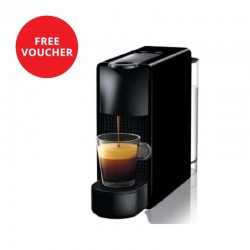 Nespresso Essenza Mini Coffee Machine - Black + Free Voucher