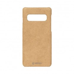 Krusell Broby Case For Galaxy S10 (61632) - Cognac Brown