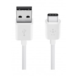 Belkin MIXIT 2.0 USB-A to USB-C Charge Cable - White