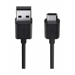 Belkin MIXIT 2.0 USB-A to USB-C Charge Cable - Black