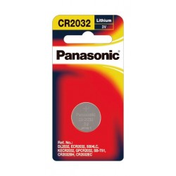 Panansonic Alkaline Battery -  Pack of 1 (CR-2032)