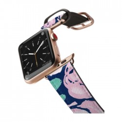 Casetify 42mm Apple Watch Aluminum Gold Leather Band