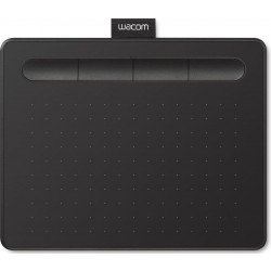 Wacom Intuos Bluetooth Creative Pen Tablet Small W/O Pen (CTL-4100K) - Black