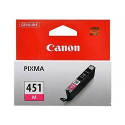 CANON Ink 451M for Inkjet Printing  - Magenta (Single Colour Pack)