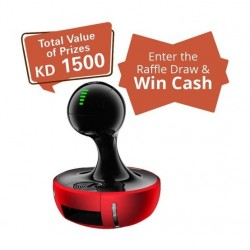 Dolce Gusto Nescafe Drop Automatic - Red + Raffle Draw Coupon